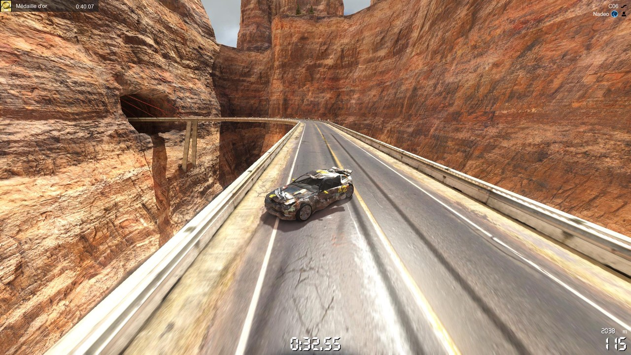 TrackMania 2 Canyon-7