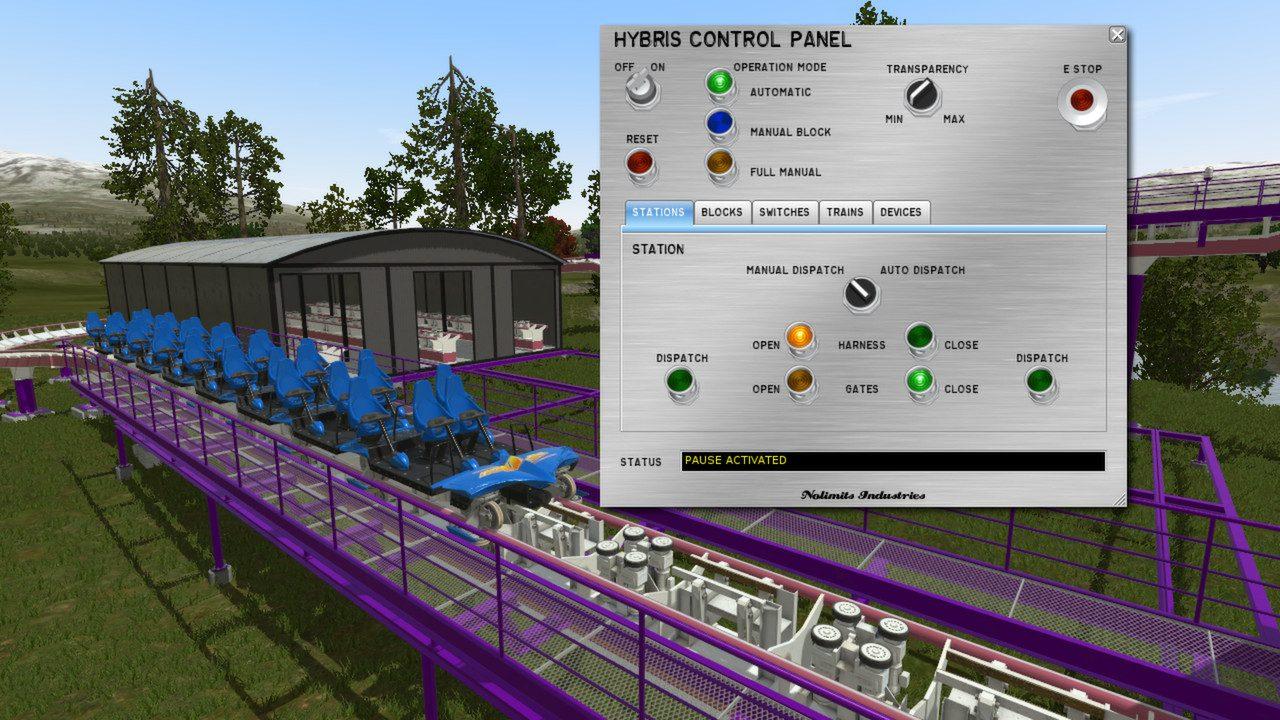 NoLimits Rollercoaster Simulation 2-2