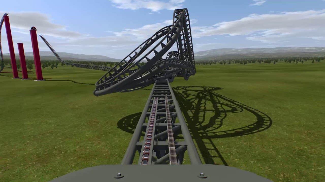 NoLimits Rollercoaster Simulation 2-7